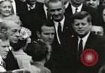 Image of John Fitzgerald Kennedy presentation to Major Cooper United States USA, 1963, second 50 stock footage video 65675021468