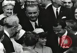 Image of John Fitzgerald Kennedy presentation to Major Cooper United States USA, 1963, second 56 stock footage video 65675021468