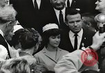 Image of John Fitzgerald Kennedy presentation to Major Cooper United States USA, 1963, second 58 stock footage video 65675021468
