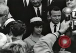 Image of John Fitzgerald Kennedy presentation to Major Cooper United States USA, 1963, second 59 stock footage video 65675021468