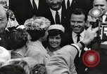 Image of John Fitzgerald Kennedy presentation to Major Cooper United States USA, 1963, second 62 stock footage video 65675021468