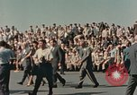 Image of X-15 rollout ceremony California United States USA, 1958, second 14 stock footage video 65675021475