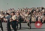 Image of X-15 rollout ceremony California United States USA, 1958, second 15 stock footage video 65675021475
