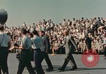 Image of X-15 rollout ceremony California United States USA, 1958, second 16 stock footage video 65675021475