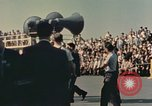 Image of X-15 rollout ceremony California United States USA, 1958, second 18 stock footage video 65675021475