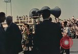 Image of X-15 rollout ceremony California United States USA, 1958, second 19 stock footage video 65675021475