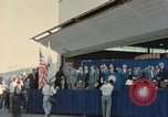 Image of X-15 rollout ceremony California United States USA, 1958, second 22 stock footage video 65675021475