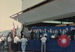 Image of X-15 rollout ceremony California United States USA, 1958, second 24 stock footage video 65675021475