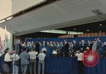 Image of X-15 rollout ceremony California United States USA, 1958, second 28 stock footage video 65675021475