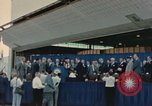 Image of X-15 rollout ceremony California United States USA, 1958, second 30 stock footage video 65675021475