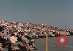 Image of X-15 rollout ceremony California United States USA, 1958, second 37 stock footage video 65675021475