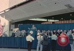 Image of X-15 rollout ceremony California United States USA, 1958, second 45 stock footage video 65675021475