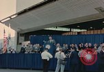 Image of X-15 rollout ceremony California United States USA, 1958, second 49 stock footage video 65675021475