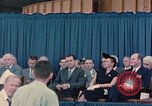 Image of X-15 rollout ceremony California United States USA, 1958, second 58 stock footage video 65675021475