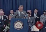 Image of X-15 rollout ceremony California United States USA, 1958, second 61 stock footage video 65675021475
