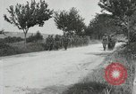 Image of 9th Machine Gun Battalion in France WWI Chateau-Thierry France, 1918, second 20 stock footage video 65675021480