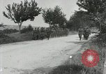 Image of 9th Machine Gun Battalion in France WWI Chateau-Thierry France, 1918, second 21 stock footage video 65675021480