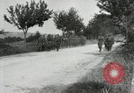Image of 9th Machine Gun Battalion in France WWI Chateau-Thierry France, 1918, second 22 stock footage video 65675021480