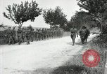 Image of 9th Machine Gun Battalion in France WWI Chateau-Thierry France, 1918, second 27 stock footage video 65675021480