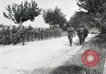 Image of 9th Machine Gun Battalion in France WWI Chateau-Thierry France, 1918, second 28 stock footage video 65675021480