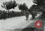 Image of 9th Machine Gun Battalion in France WWI Chateau-Thierry France, 1918, second 30 stock footage video 65675021480