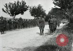 Image of 9th Machine Gun Battalion in France WWI Chateau-Thierry France, 1918, second 31 stock footage video 65675021480