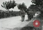Image of 9th Machine Gun Battalion in France WWI Chateau-Thierry France, 1918, second 32 stock footage video 65675021480