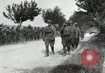 Image of 9th Machine Gun Battalion in France WWI Chateau-Thierry France, 1918, second 33 stock footage video 65675021480