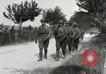 Image of 9th Machine Gun Battalion in France WWI Chateau-Thierry France, 1918, second 34 stock footage video 65675021480