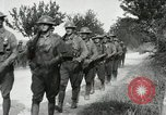 Image of 9th Machine Gun Battalion in France WWI Chateau-Thierry France, 1918, second 37 stock footage video 65675021480