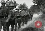 Image of 9th Machine Gun Battalion in France WWI Chateau-Thierry France, 1918, second 39 stock footage video 65675021480