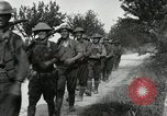 Image of 9th Machine Gun Battalion in France WWI Chateau-Thierry France, 1918, second 40 stock footage video 65675021480