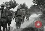 Image of 9th Machine Gun Battalion in France WWI Chateau-Thierry France, 1918, second 44 stock footage video 65675021480