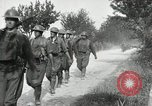 Image of 9th Machine Gun Battalion in France WWI Chateau-Thierry France, 1918, second 46 stock footage video 65675021480