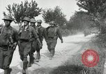 Image of 9th Machine Gun Battalion in France WWI Chateau-Thierry France, 1918, second 47 stock footage video 65675021480