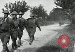 Image of 9th Machine Gun Battalion in France WWI Chateau-Thierry France, 1918, second 48 stock footage video 65675021480