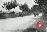 Image of 9th Machine Gun Battalion in France WWI Chateau-Thierry France, 1918, second 56 stock footage video 65675021480