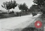 Image of 9th Machine Gun Battalion in France WWI Chateau-Thierry France, 1918, second 57 stock footage video 65675021480