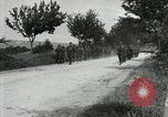 Image of 9th Machine Gun Battalion in France WWI Chateau-Thierry France, 1918, second 58 stock footage video 65675021480