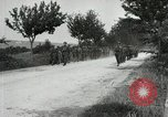 Image of 9th Machine Gun Battalion in France WWI Chateau-Thierry France, 1918, second 59 stock footage video 65675021480