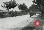 Image of 9th Machine Gun Battalion in France WWI Chateau-Thierry France, 1918, second 60 stock footage video 65675021480