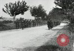 Image of 9th Machine Gun Battalion in France WWI Chateau-Thierry France, 1918, second 61 stock footage video 65675021480