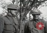 Image of decoration ceremony France, 1918, second 44 stock footage video 65675021516