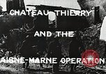 Image of Marne Operation France, 1918, second 5 stock footage video 65675021520