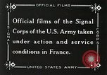 Image of Marne Operation France, 1918, second 9 stock footage video 65675021520