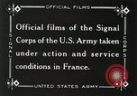 Image of Marne Operation France, 1918, second 10 stock footage video 65675021520