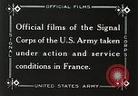 Image of Marne Operation France, 1918, second 11 stock footage video 65675021520
