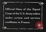Image of Marne Operation France, 1918, second 12 stock footage video 65675021520