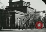 Image of National Theatre building Washington DC USA, 1921, second 51 stock footage video 65675021533