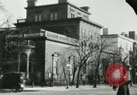 Image of National Theatre building Washington DC USA, 1921, second 55 stock footage video 65675021533